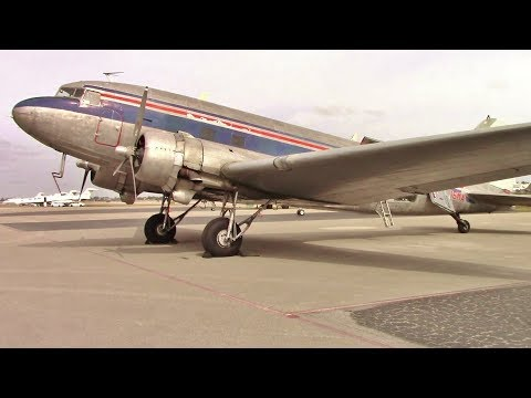 DC-3 Freighter Tour - Opa-Lock Air Expo
