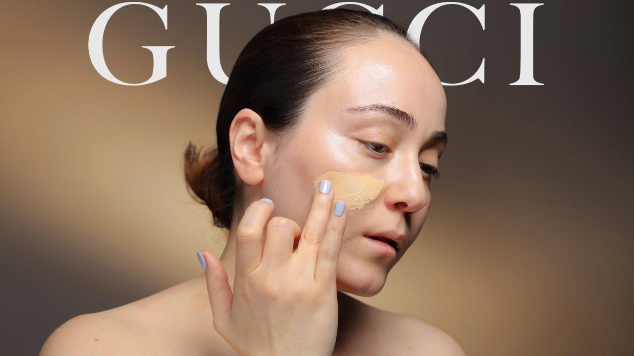 GUCCI Makeup 💎 neue Luxus Foundation für 59 Euro 👩⚖️ Review