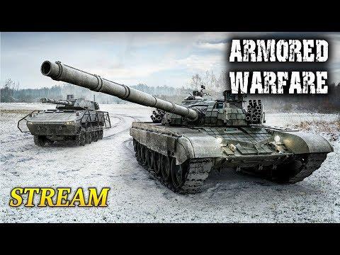 Armored Warfare - PTS (moździerz, nowy niszczyciel, bitwy rankingowe) + plutony z widziami