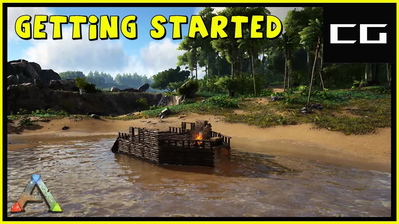 Download Getting Started on the Island - Complete The Ark Ep #1