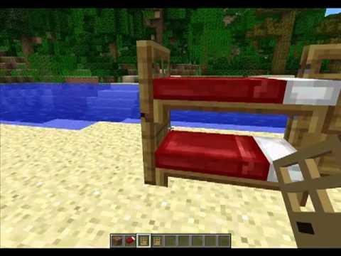 Minecraft como hacer una litera youtube - Como hacer una litera ...