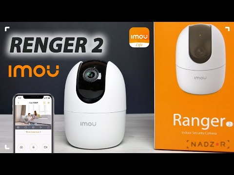 IMOU Ranger 2 (Dahua IPC-A22EP) - поворотная WiFi камера видеонаблюдения  с функцией Smart Tracking