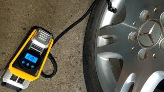 Car Air Compressor Pump for Swap with Wheels Digital Tire Inflator and Auto Shut Off