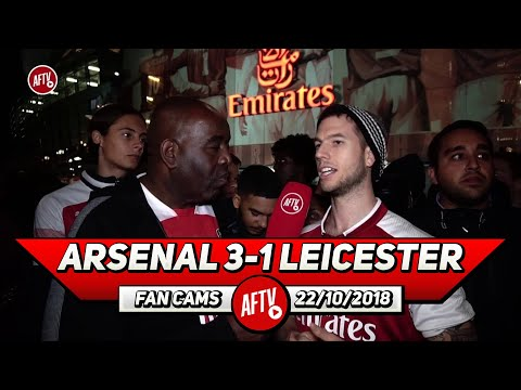 Arsenal 3-1 Leicester City | No On Else In The Premier League Can Do What Ozil Does!!