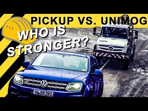 🔥Unimog vs VW Amarok V6, Ford Ranger, Hilux, Nissan Navara, D-Max - 4x4 Offroad Test | Bauforum24