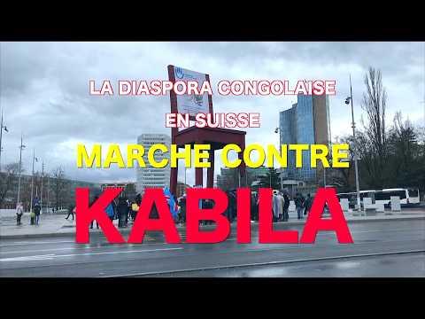 MARCHE CONGOLAISE CONTRE KABILA A GENEVE, samedi 17/02/2018
