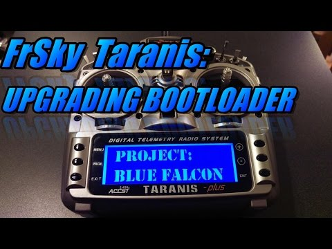 Taranis X9D: Upgrading Bootloader