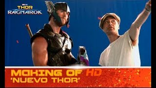 Thor: Ragnarok de Marvel | Making of: nuevo Thor | HD