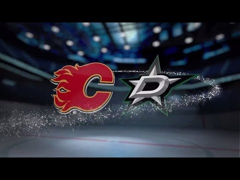 Calgary Flames vs Dallas Stars - November 24, 2017 | Game Highlights | NHL 2017/18. Обзор матча