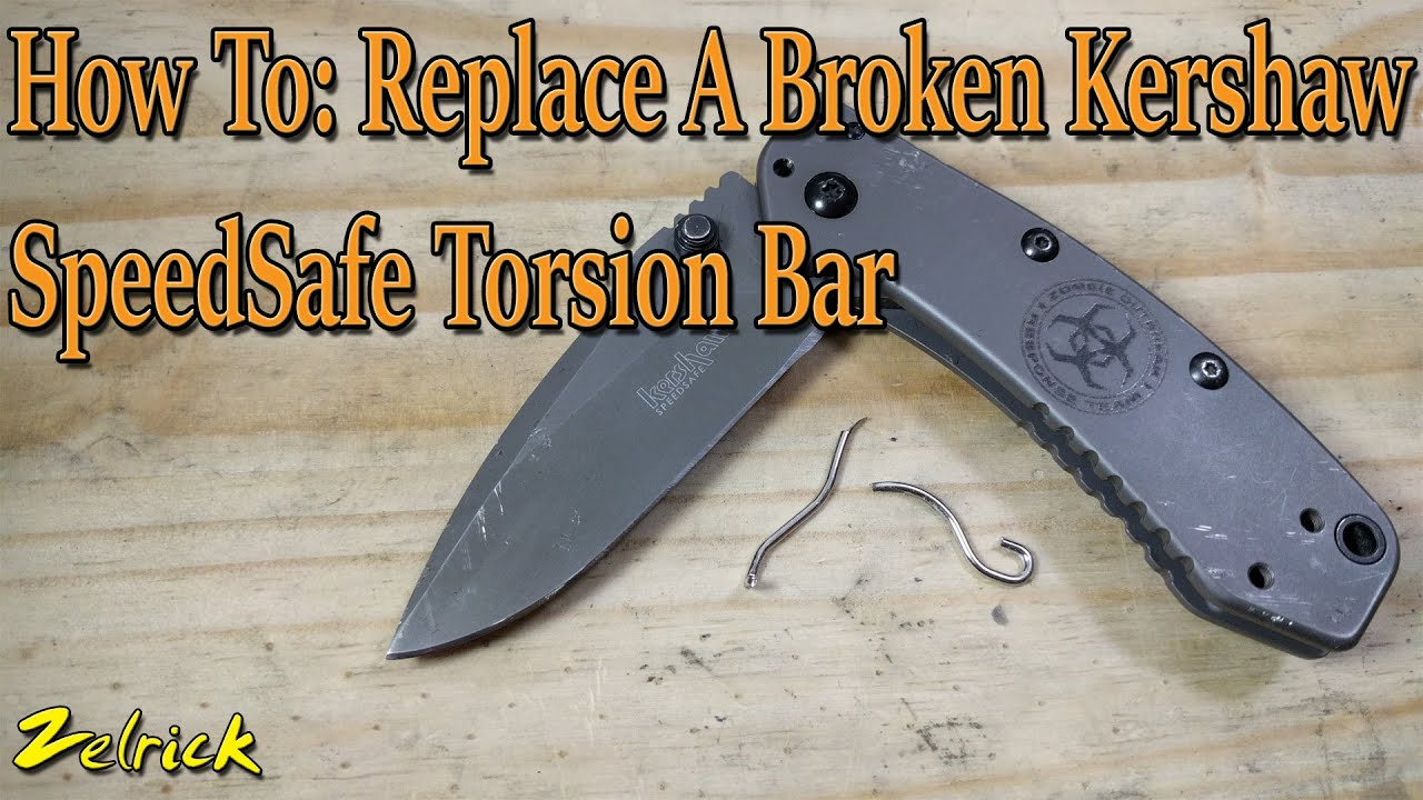 kershaw speedsafe how to close