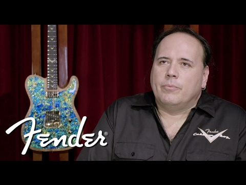 FCS Prestige Collection Dragon Skin Tele by John Cruz | Fender