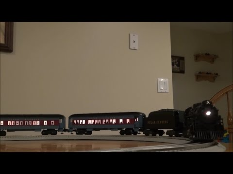 Review: Lionel Polar Express O Gauge Set w/LionChief Remote & RailSounds #30218