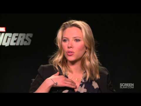 THE AVENGERS: Jeremy Renner & Scarlett Johansson Interview
