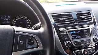 Hyundai Solaris обзор