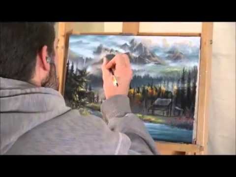 Oil Painting Time Lapse by Chuck Black