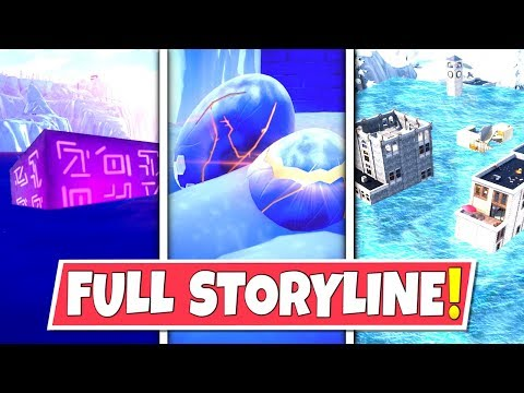 *NEW* FULL SEASON 7 *STORYLINE* IN FORTNITE SO FAR! DRAGON EGGS, FLOODS AND THE CUBE!: BR