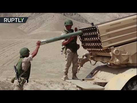 Centre 2019: Drills conducted on Tajikistan-Russia border