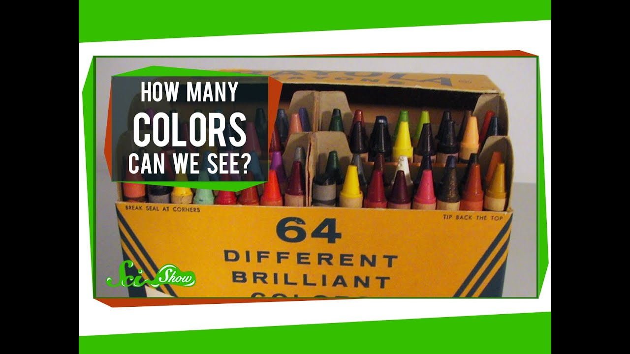 how many colors can we see