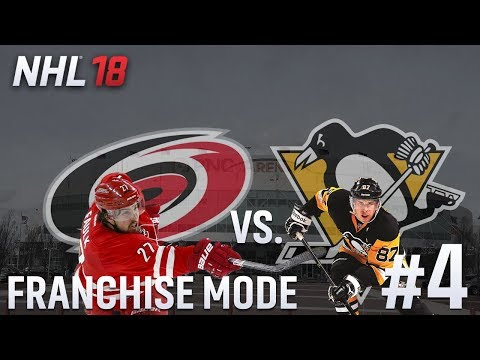 Round One/Pittsburgh - NHL 18 - GM Mode Commentary - Hurricanes - Ep.4