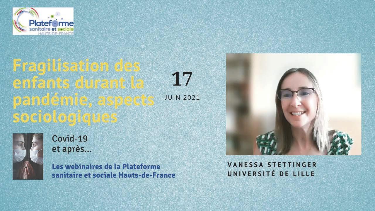 Youtube Video: Vanessa Stettinger - Fragilisation des enfants durant la pandémie, aspects sociologiques