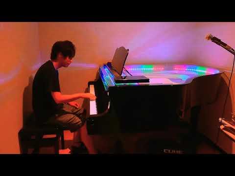 LEDピアノで弾いてきた!!Non So Come Mai~Emanuele Fasano~《Cover》酒と食事とピアノ🍺