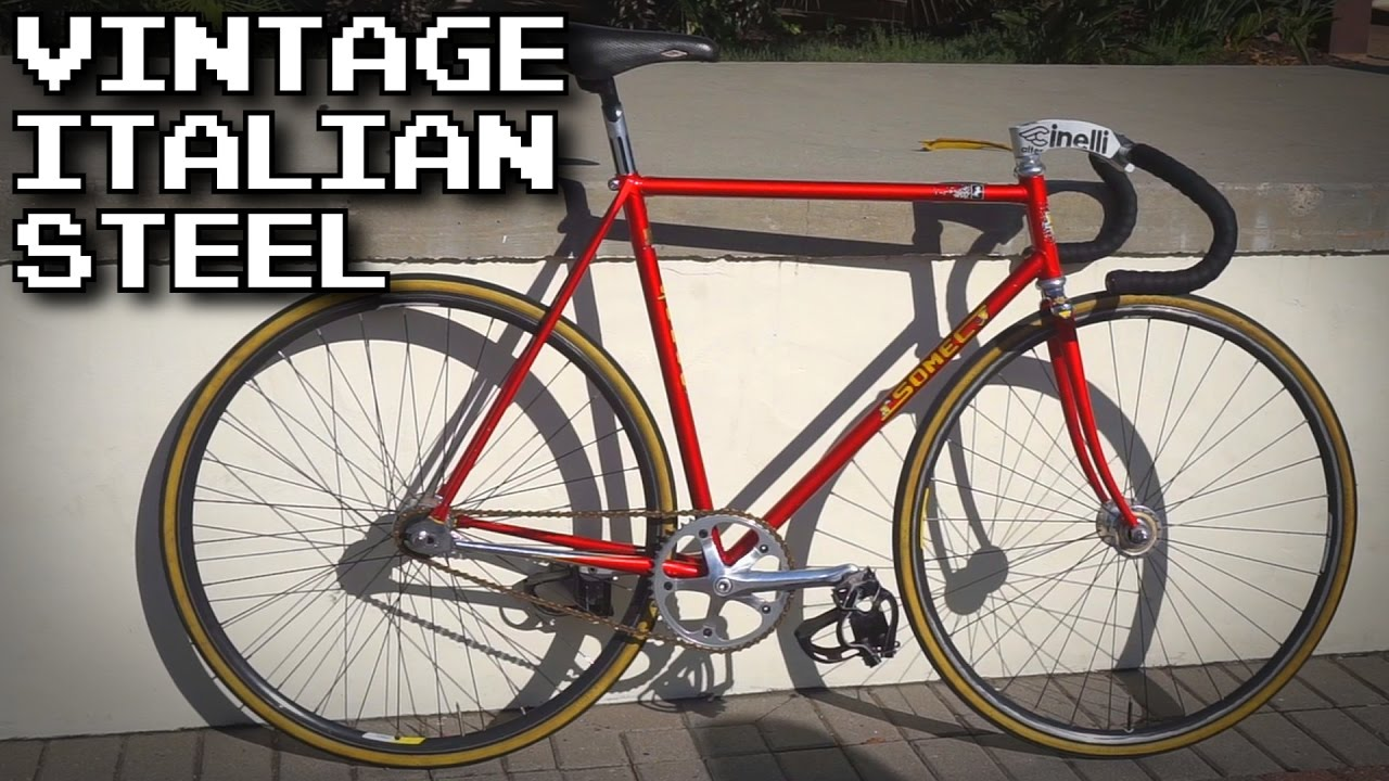 Rare 1980\'s Somec Track Bike | Fixed Gear Bike Check - YouTube