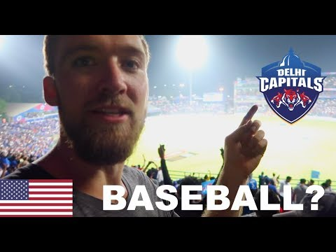 AMERICAN VISITS CRICKET MATCH IN INDIA!! (Delhi Capitals) (w/ @itsConnerSully)