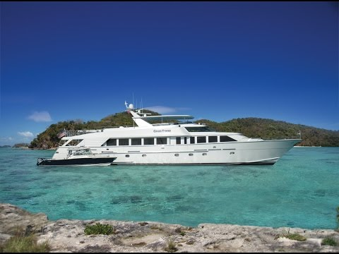 GOOD TIMES 114' Hatteras Yacht for sale by RJC Yacht Sales & Charter