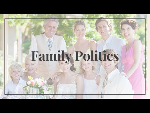 Family Politics on your Wedding Day