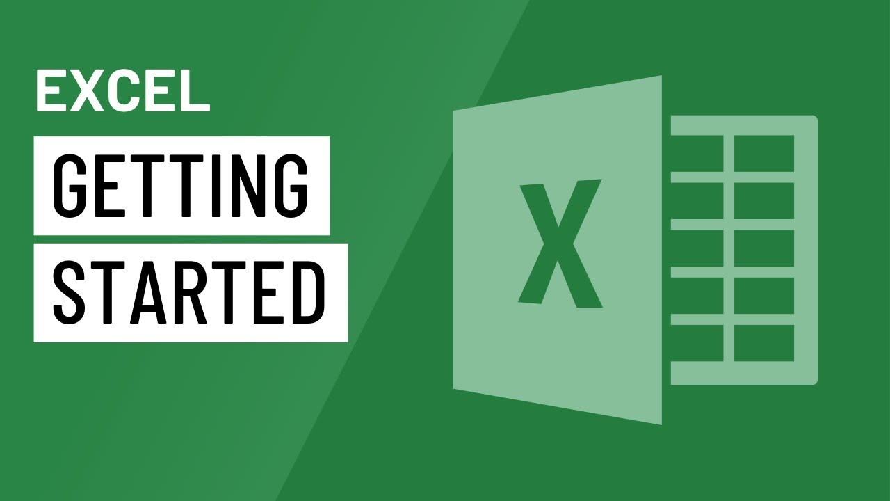 Excel: Getting Started