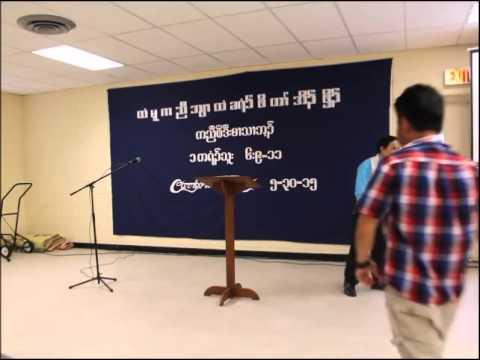 Pastor David Star (Chains) Chapel Hill, North Carolina (Htee Moo Church