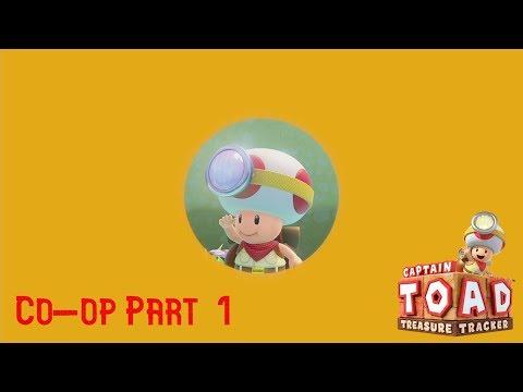 Captain Toad Treasure Tracker  - Seeking Treasure In 40 Minutes?! (Part 1) (Co-op)