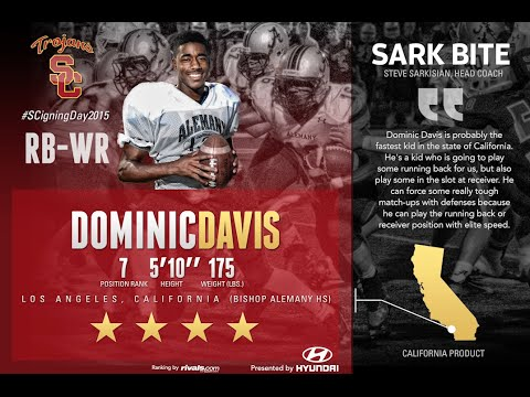 USC Signing Day 2015 - RB-WR Dominic Davis