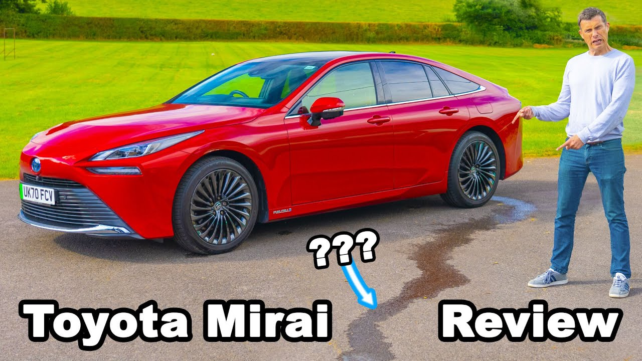 Download Toyota Mirai review: the hydrogen car that 'urinates' 😂