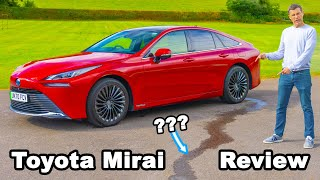 Toyota Mirai review: the hydrogen car that 'urinates' 😂