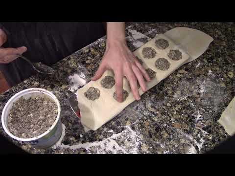 Homemade Vegan Mushroom Ravioli