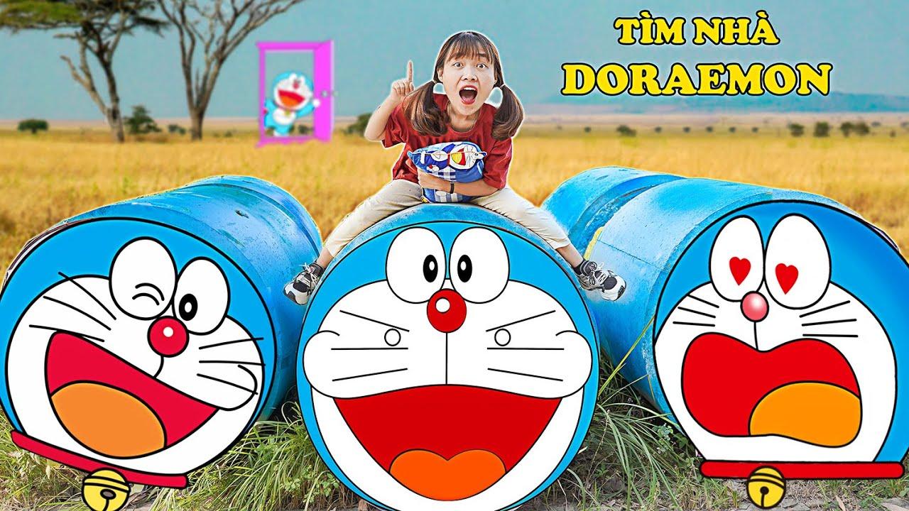 Thử Thách Đi Tìm Nhà Doraemon Ngoài Đời Thật Và Nhặt Được Rất Nhiều Bảo Bối Thần Kỳ Phần 2 - Hà Sam