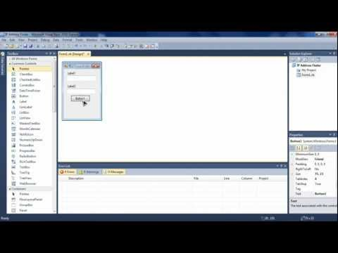 Visual Basic Serial COM Port Tutorial (Visual Studio 2010) - Part 2