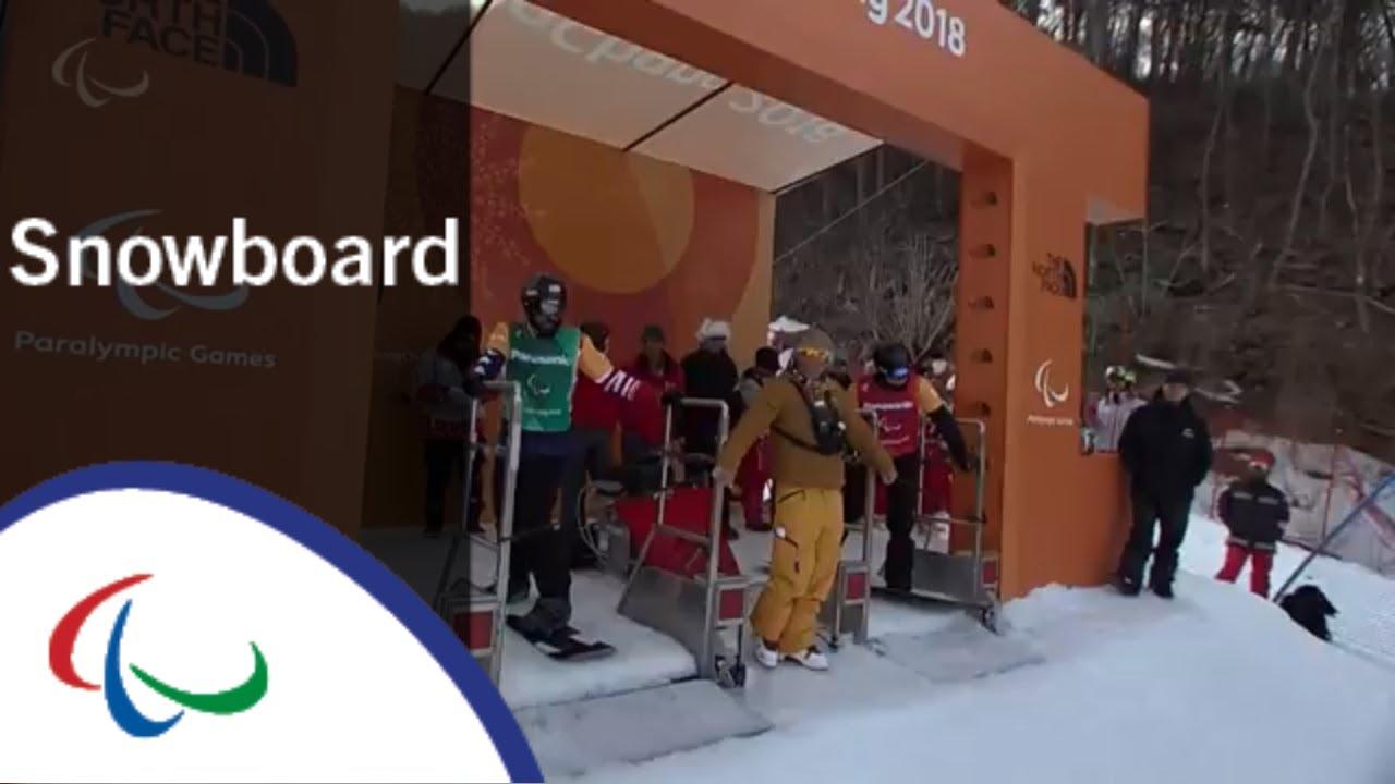 Matti SUUR-HAMARI VS. Keith GABEL| Snowboard cross|  Final| PyeongChang2018 Paralympics