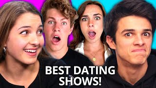 BEST BLIND DATING SHOWS Compilation w/ Lexi & Brent Rivera, Ben Azelart, Pierson, & MORE