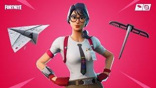 Fortnite new skins. Maven - Female teacher skin