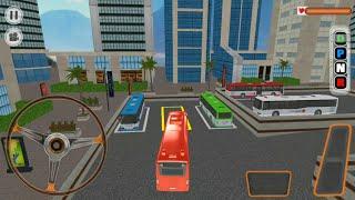 Bus parking 3D game || bus parking top games screenshot 4
