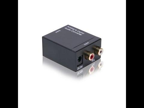 Cách lấy âm thanh từ tivi LG ra âm ly – Av to Optical