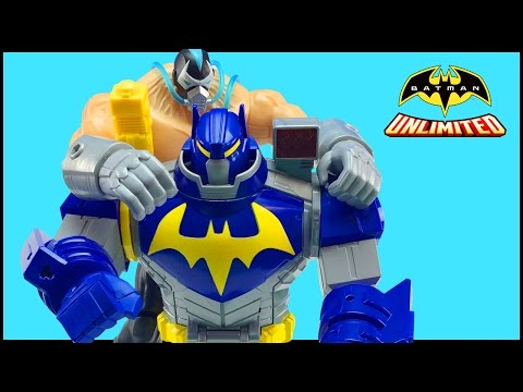 Batman Unlimited Mech Vs Mutants Toys - Ultimate Bat-Mech Battles Mutant Bane Figure Part 2