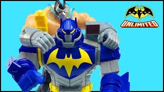 Batman Unlimited Mech Vs Mutants Toys - Ultimate Bat-Mech Battles Mutant Bane Figure Part 2