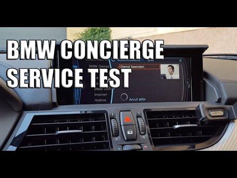 BMW Concierge Service Test - Der Butler im Auto