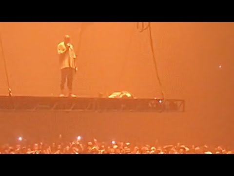 "Kanye West ""Moved to Tears"" by Fan at Concert"