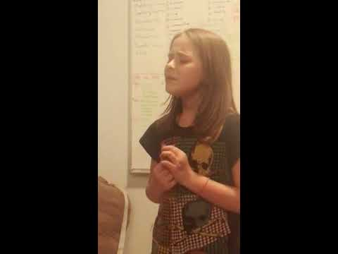 Imagine by John Lennon, cover by Ali (9 years old)