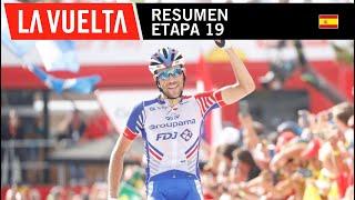 Resumen - Etapa 19 - La Vuelta 2018
