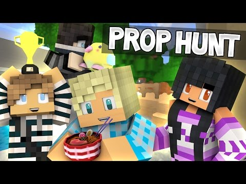 Aphmau's Mating CAW | Minecraft PropHunt